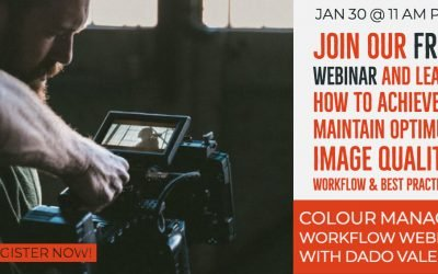 Webinar – Color Managed Workflow