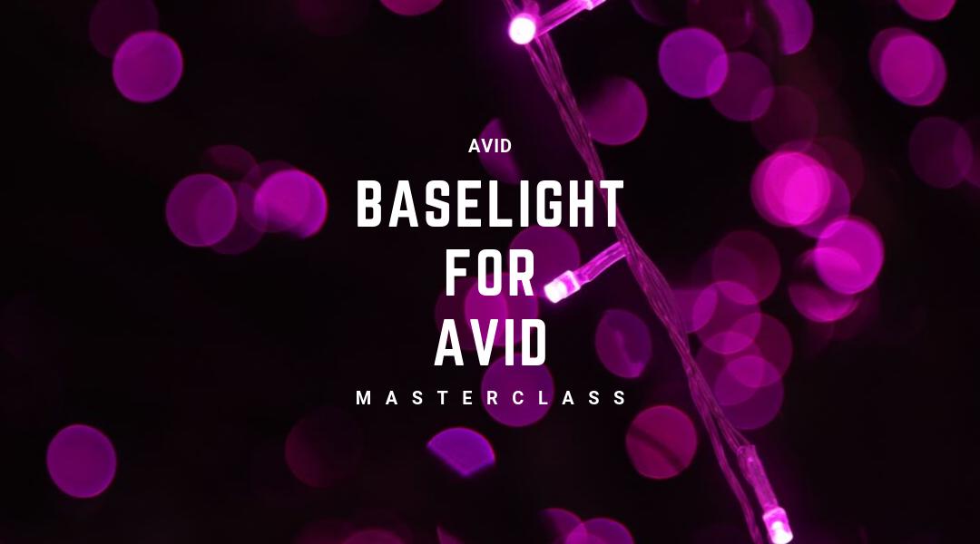 Baselight for Avid Masterclass